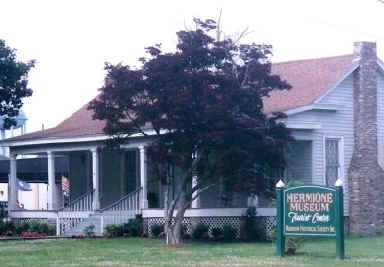 Museum - Hermione House in Tallulah, Louisiana along Hwy 65 in Madison Parish